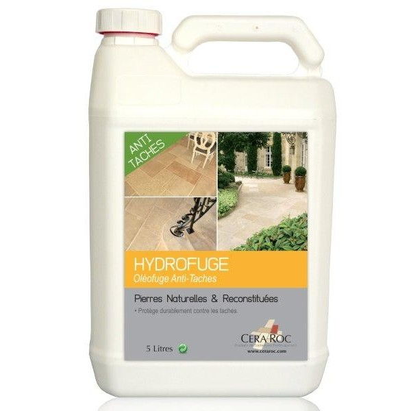 Protection hydrofuge pierre naturelle