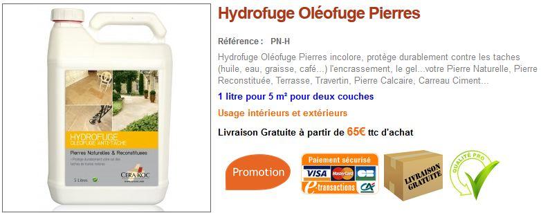 Entretien tour de piscine en pierre conseils et vente - Hydrofuge pour travertin ...