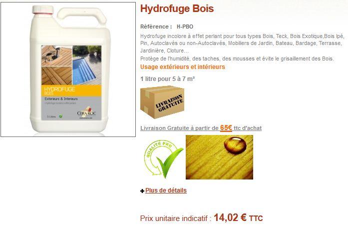 Protection Terrasse Bois Conseils Et Vente DHydrofuge  Huile Pour