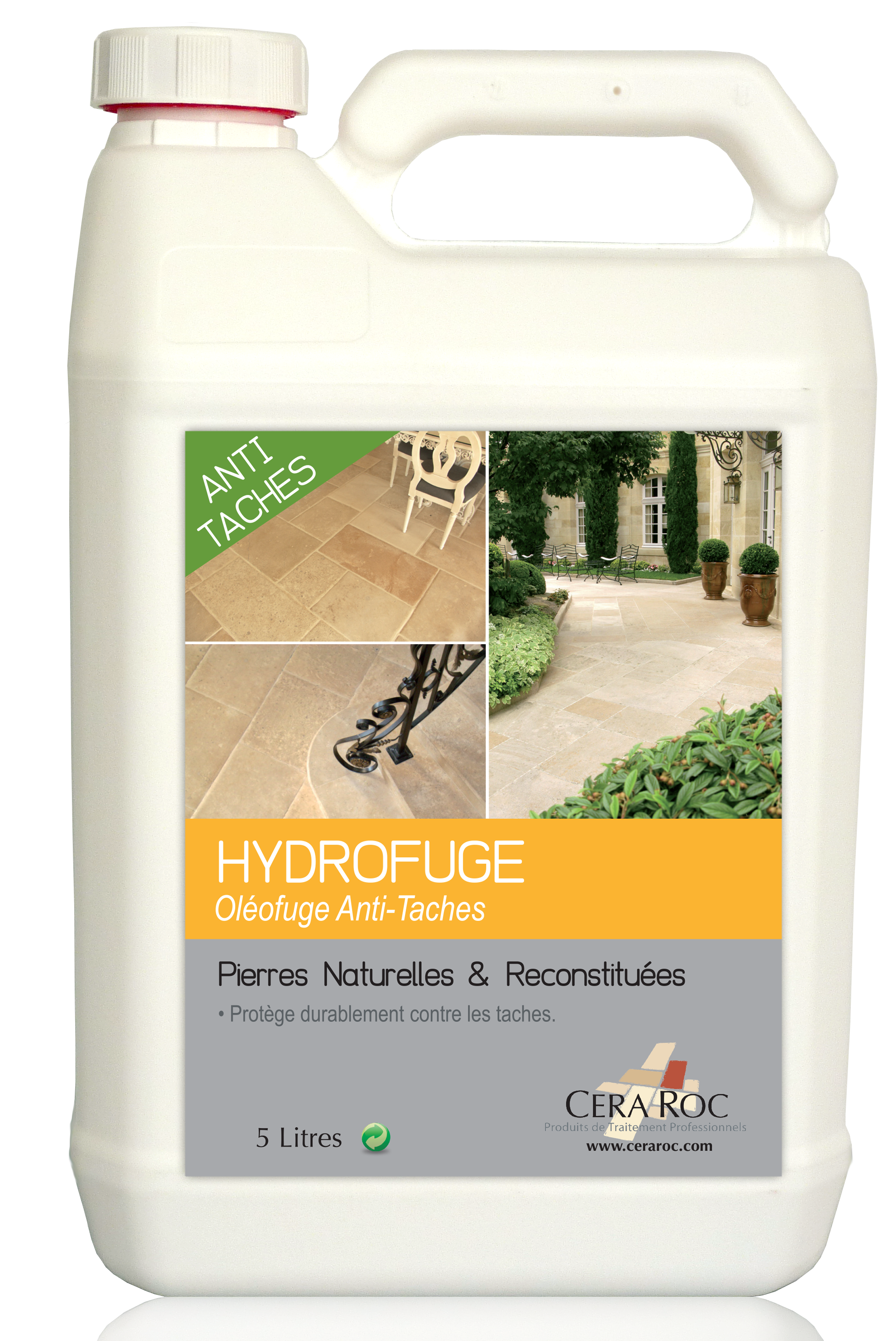 Anti Mousse Naturel Terrasse hydrofuge anti taches pour dallages en pierres naturelles
