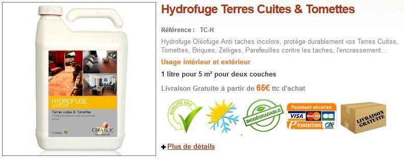 Hydrofugugation-Tomette