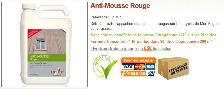 Antimousse-rouge