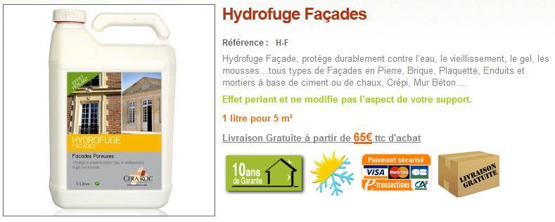 Hydrofuge Façade maison