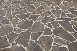 teinter des dalles en pierre reconstituée